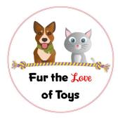 Fur the love of toys logo