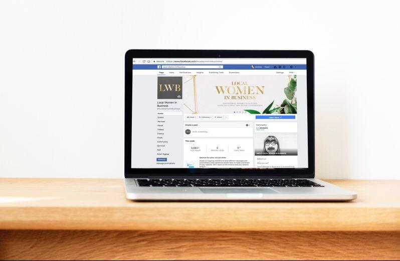 Facebook page setup workshop image