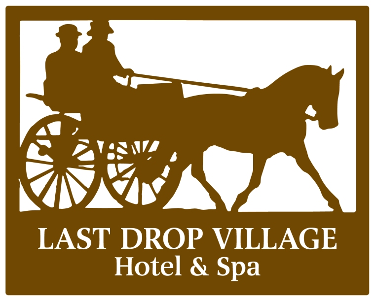 Last drop village hotel logo blog image
